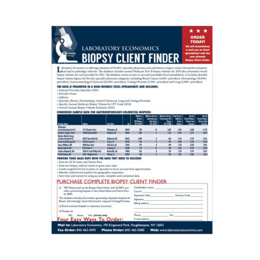 Biopsy Client Finder